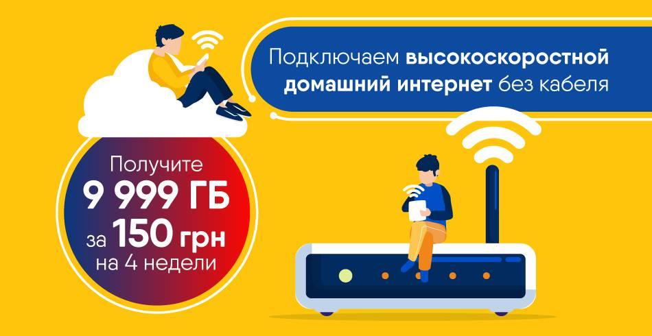 Домашний интернет 4G