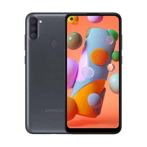 Смартфон Samsung Galaxy A11 2/32GB Black (SM-A115FZKN)