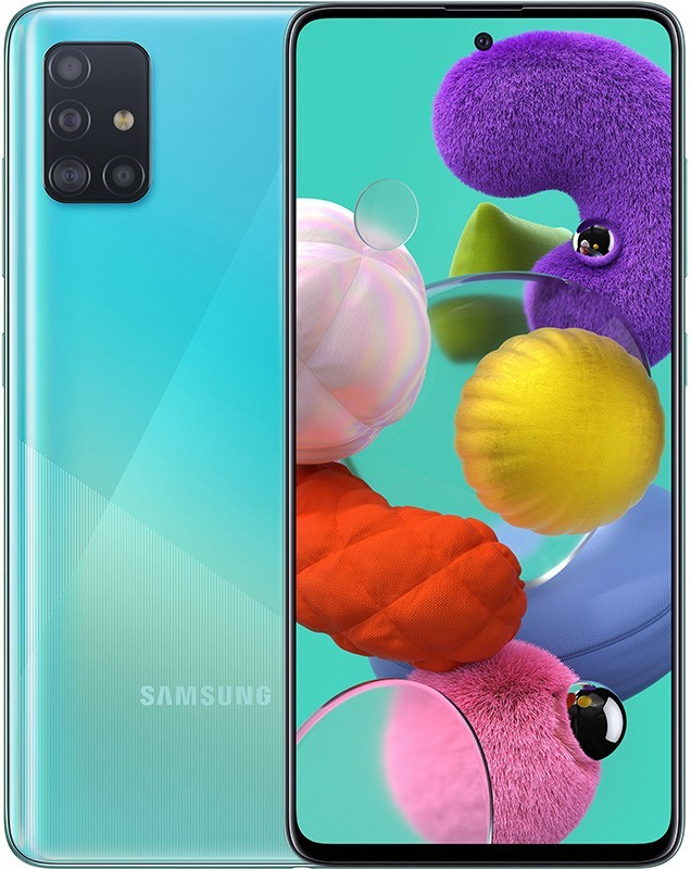 Смартфон Samsung Galaxy A51 2020 4/64GB Blue