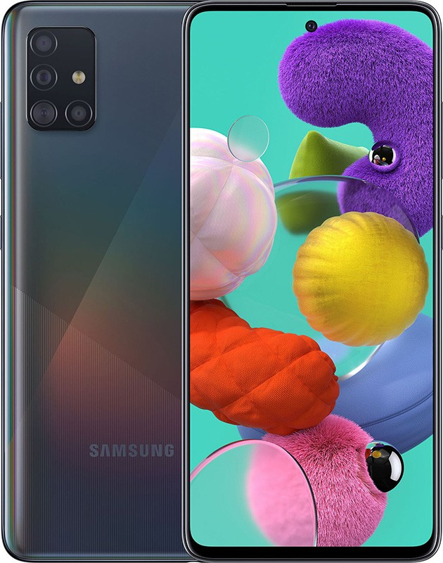 Смартфон Samsung Galaxy A51 2020 4/64GB Black ***