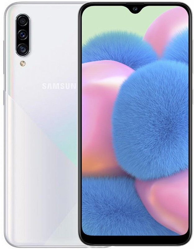 Смартфон Samsung Galaxy A30s 3/32GB White (SM-A307FZWU)