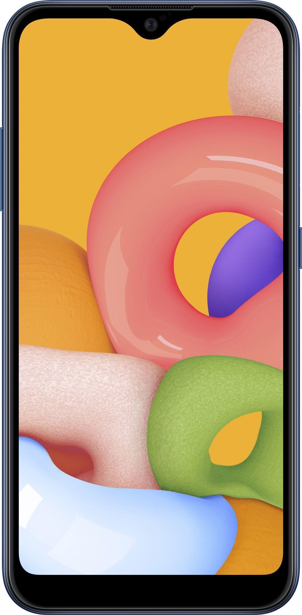 Смартфон Samsung Galaxy A01 2/16GB (SM-A015FZBDSEK) Blue